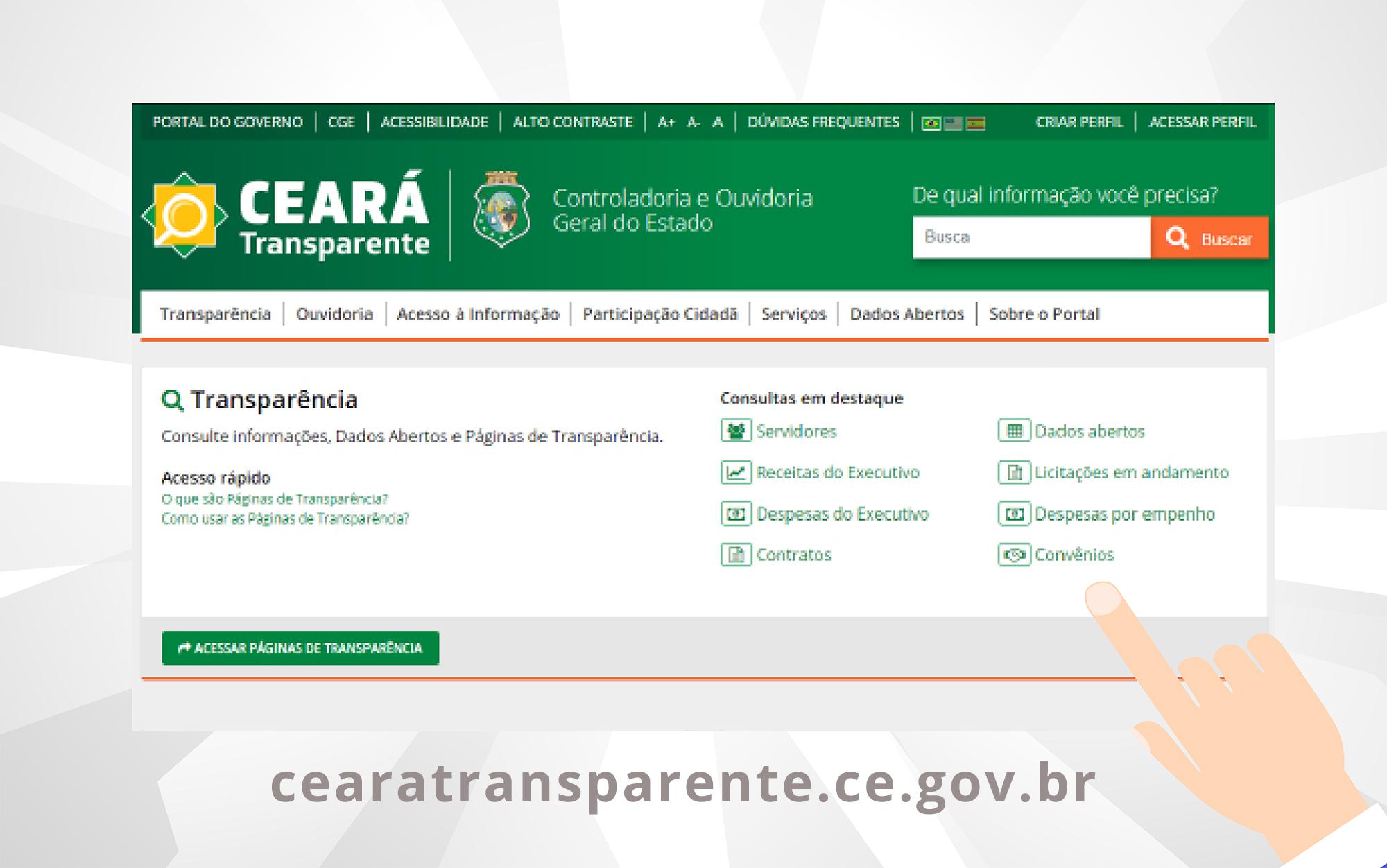 Ceará Transparente registra mais de 75 mil acessos durante o mês de outubro
