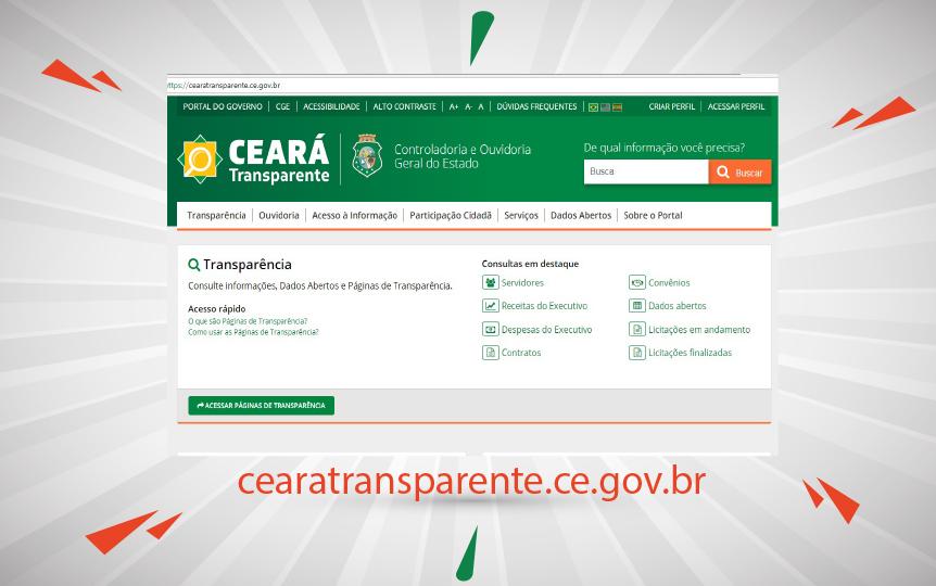 Ceará Transparente alcança mais de 3 milhões de visualizações em 2018
