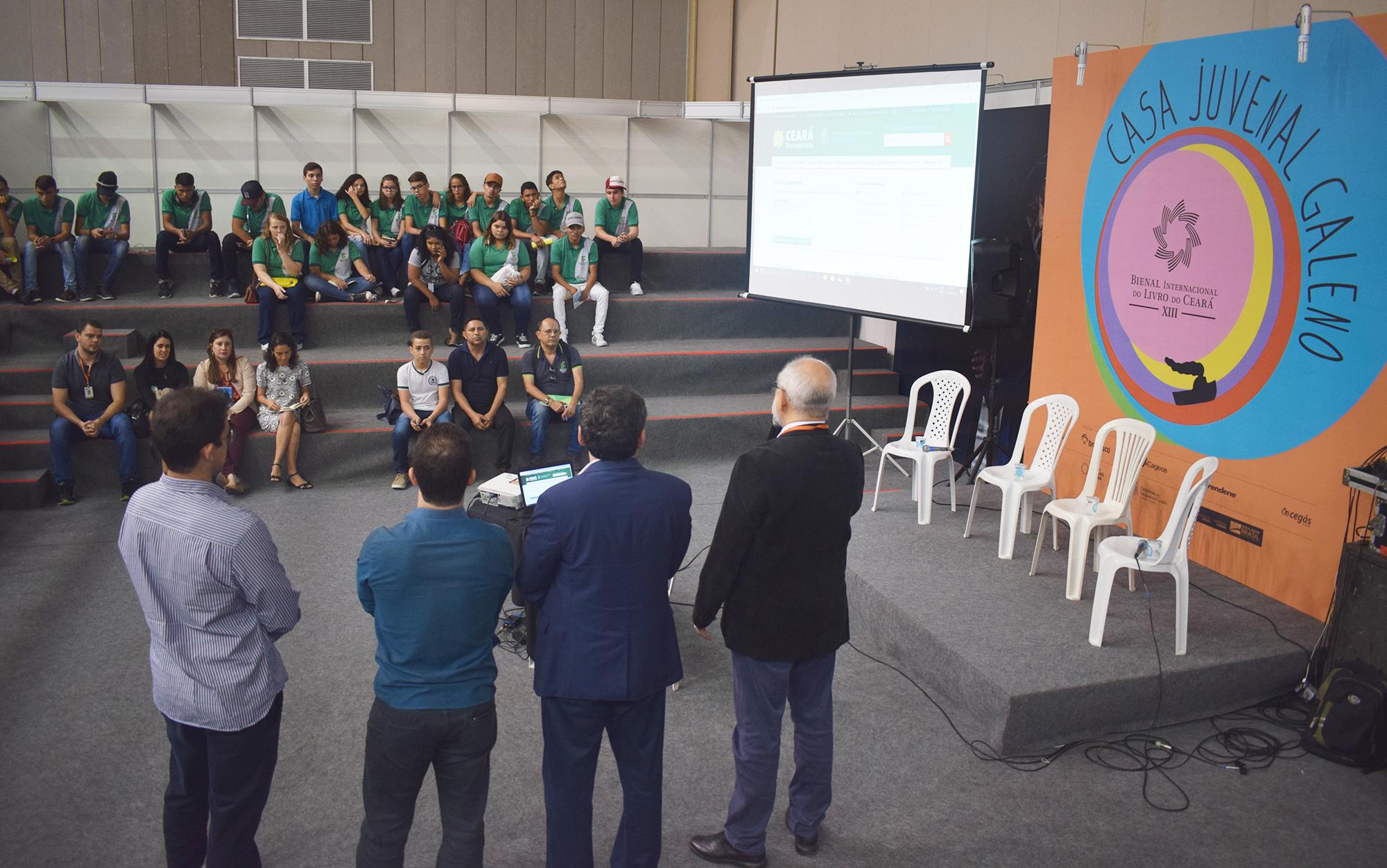 Ceará Transparente: Nova funcionalidade cidadã do PPA é lançada na 13ª edição da Bienal do Livro do Ceará