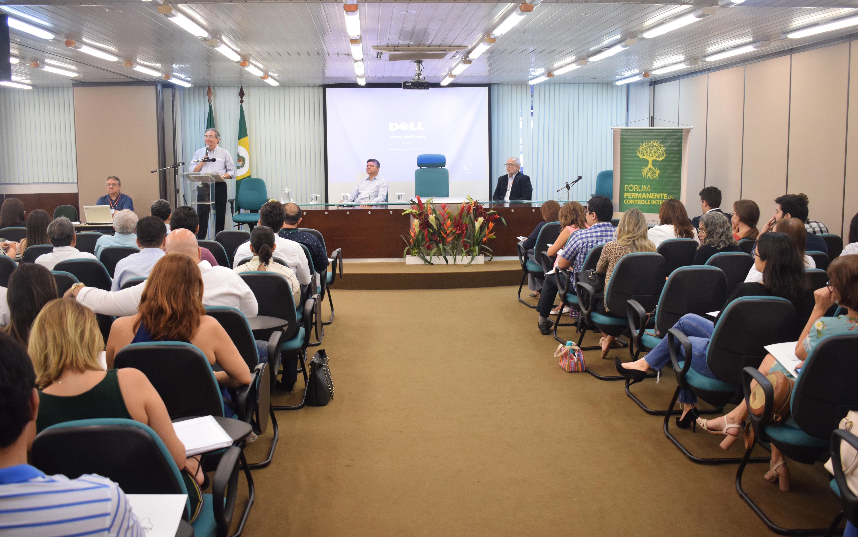 Sistema de Controle Interno do Poder Executivo é tema do 44º Fórum Permanente de Controle Interno