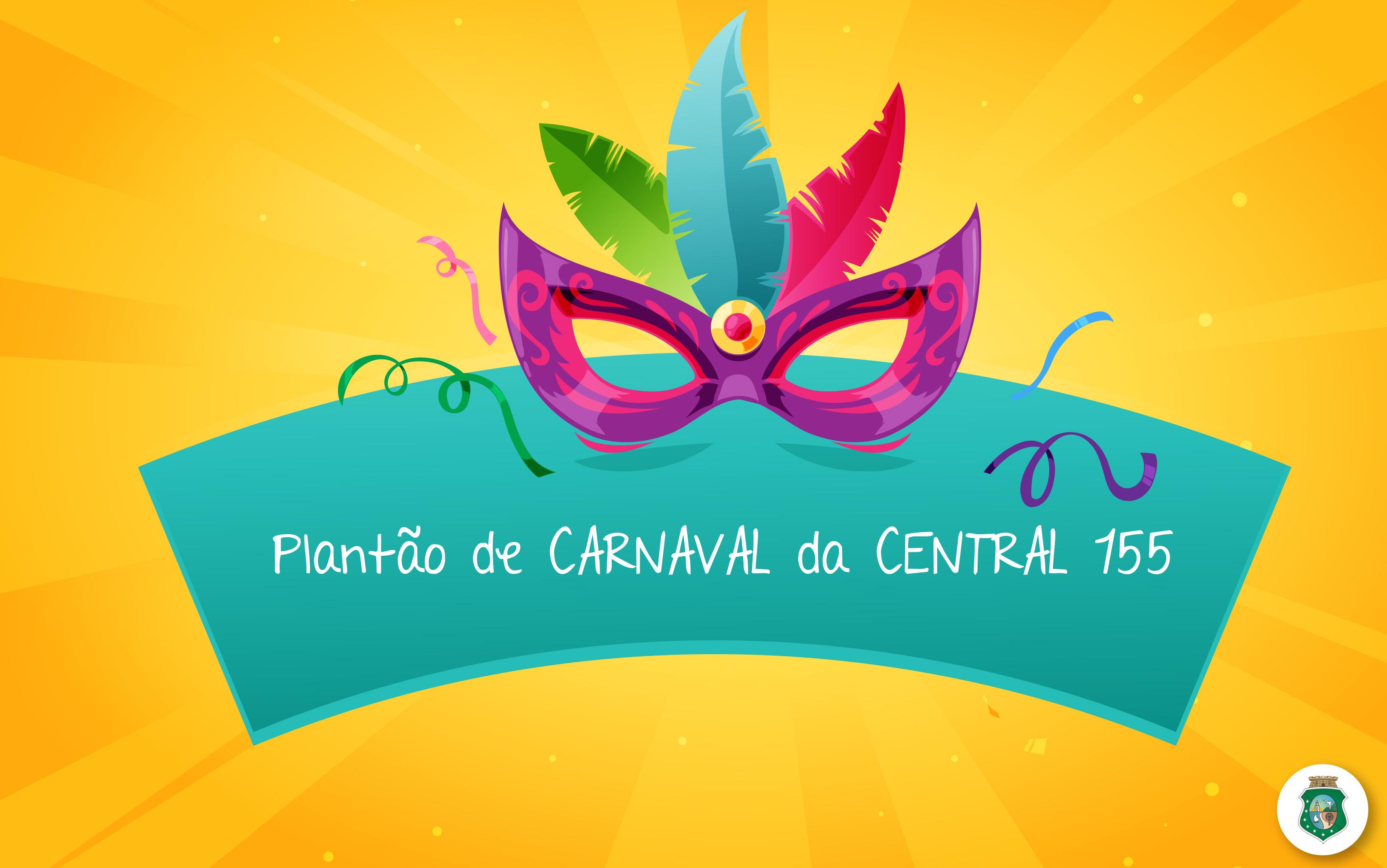 Fique ligado! Central 155 funcionará em regime de plantão neste Carnaval