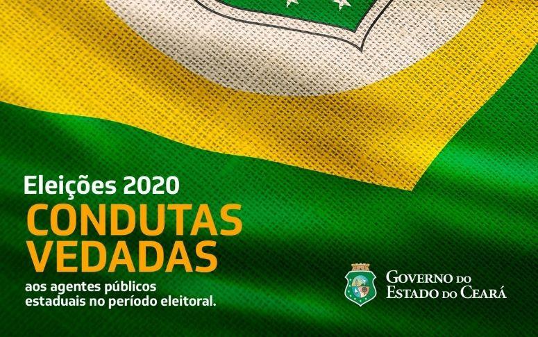 Governo do Ceará disponibiliza cartilha Condutas Vedadas aos Agentes Públicos Estaduais no Período Eleitoral