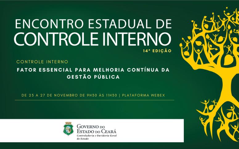 CGE inicia atividades do Encontro Estadual de Controle Interno