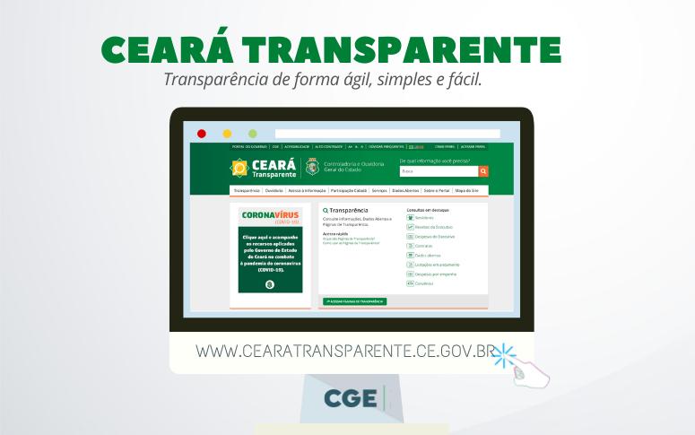 Ceará Transparente registra mais de 164 mil acessos em setembro